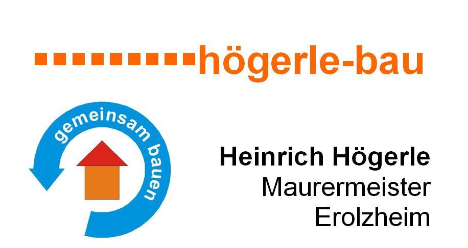 Högerle Bau Erolzheim Heinrich Högerle