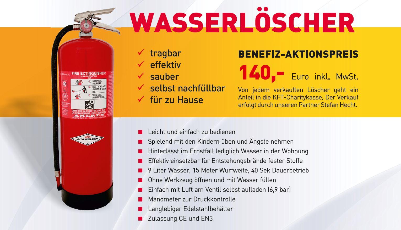 Kreisfeuerwehrtag Erolzheim KFT2015 Shop Benefiz Feuerlöscher Wasserlöscher