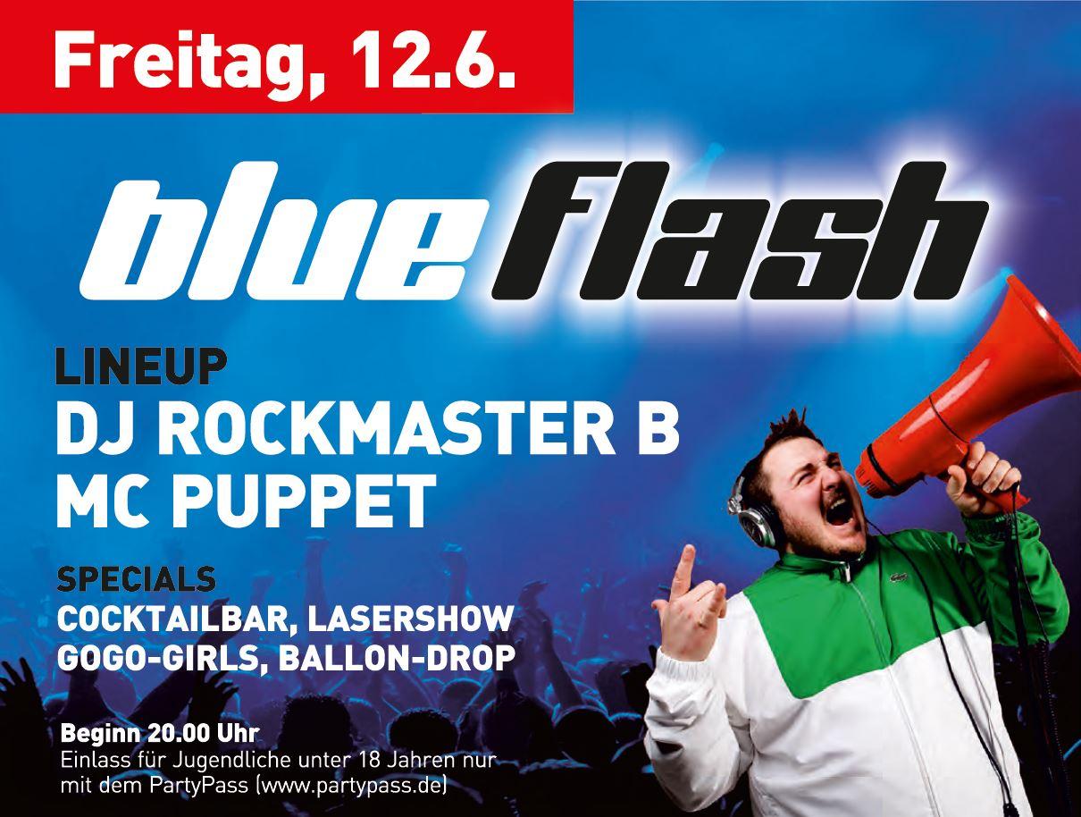 Kreisfeuerwehrtag Erolzheim KFT2015 Programm Freitag DJ Rockmaster B MC Puppet