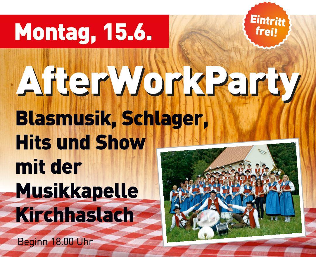 Kreisfeuerwehrtag Erolzheim KFT2015 Programm Montag After Work Party Kirchhaslach