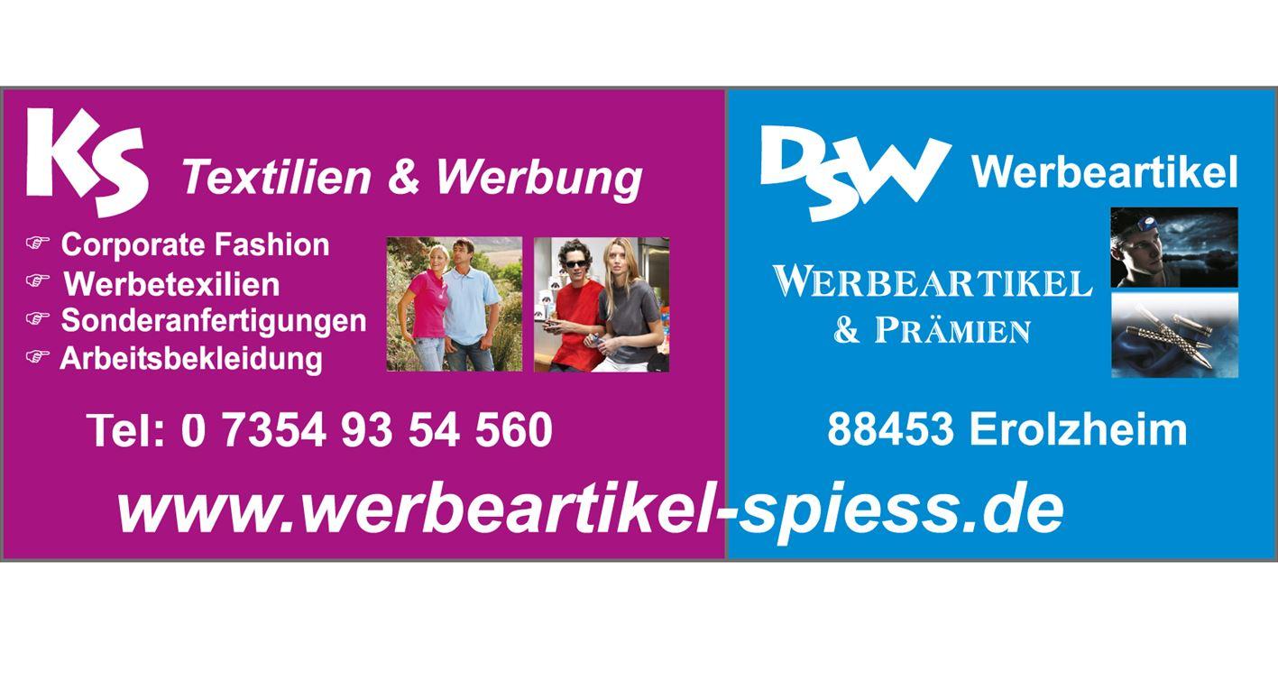 KS Textilien DSW Werbeartikel Erolzheim