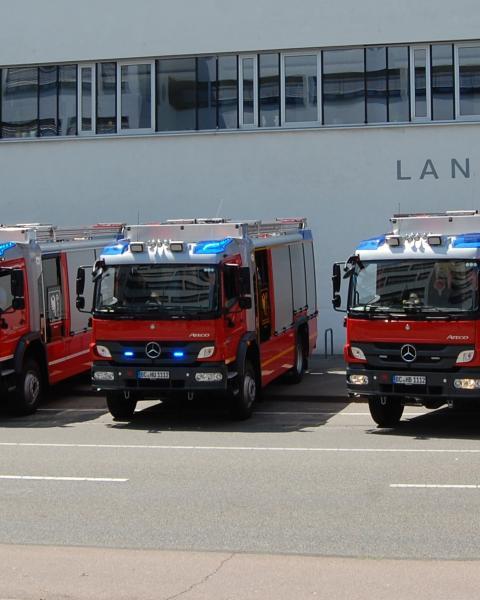 Die neuen HLF 20 für die Stützpunktfeuerwehren im Kreis Biberach