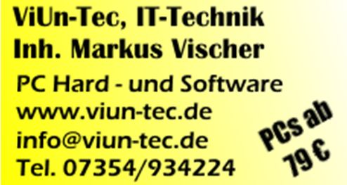 ViUn-Tec IT-Technik Erolzheim